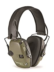 Honeywell Howard Leight 1013530 Impact Sport Foldable Ear Defender, SNR 25(Green)