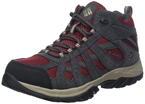 Columbia Damen Wanderschuhe Wasserdicht Canyon Point Mid Waterproof, Größe 37, rot (marsala red, kettle)