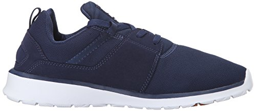 DC Shoes Mens Heathrow Sneakers Low Top Shoes Navy