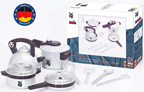 Theo Klein 9430 - WMF Topf-Set für die Kinderküche, Spielzeug