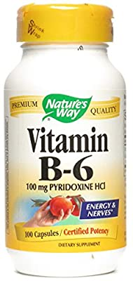 Natures Way Vitamin B-6 (100Mg) 100 Caps from Nature's Way