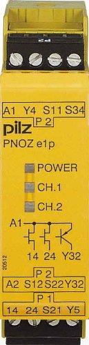 Pilz Not-Aus-Schaltgerät 24VDC 2so PNOZ e1p #774130