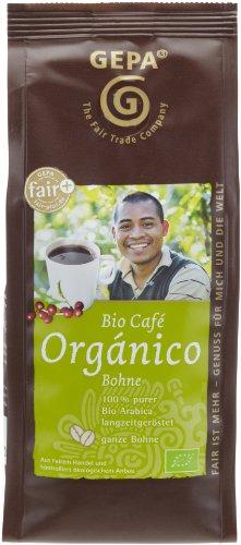 GEPA Bio Café Orgánico ganze Bohne, 3er Pack (3 x 250 g)