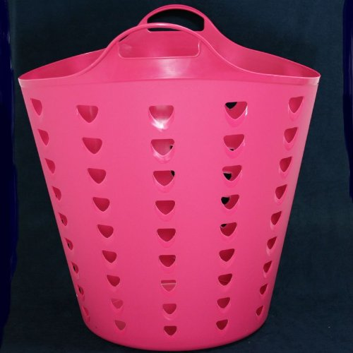 Wäschekorb - Jumbobag 60 Liter, pink