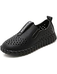Mocassini Bambini Scarpe da Barca Casual Loafers Antiscivolo Scarpe Piatte Ragazzi  Ragazze Scarpe Pigre 46b651032b3