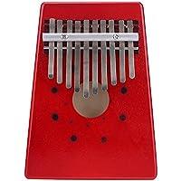 Andoer® 10 Claves Abedul Pulgar Finger Piano Thumb Piano Mbira