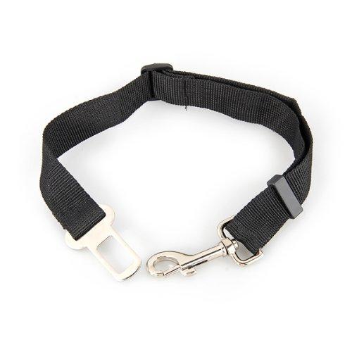 Auto Hunde Sicherheitsgurt Hundegurt Sicherheitsgeschirr Schwarz 2,5 x 70 cm - 4
