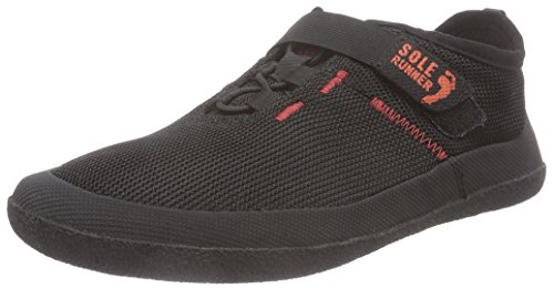 Sole Runner Fx Trainer 3, Unisex-Erwachsene Sneakers, Schwarz (Black/Red 05), 40 EU