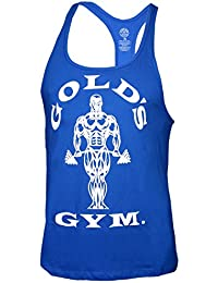 Golds Gym Classic Golds Gym Stringer Tank Top 100% Baumwolle (Royal, M)