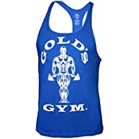 Golds Gym Classic Golds Gym Stringer Tank Top 100% Baumwolle (Royal, S)