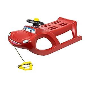 Rot Lenkung Schlitten Happy Car zigi-zet vielleicht Rad und Klaxon