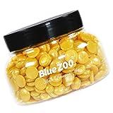 CUTICATE 150 G De Perlas De Cera Depilatoria Duras/Grano De Cera De Película Caliente Para La Eliminación Del Vello Sin Dolor - Oro