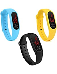 Stylevilla Collection Men's and Women's Smart and Digital Multicolour Watch