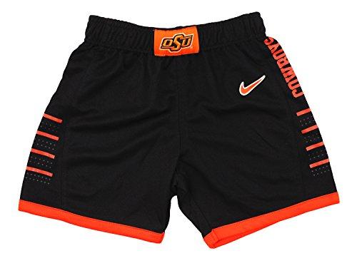 Nike Jungen Kleinkinder Oklahoma State Cowboys NCAA Little Basketball Shorts, Schwarz, Jungen, schwarz (, Basketball-shorts Kleinkind,)