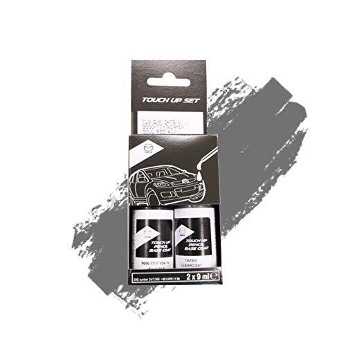 Genuine Mazda Machine Grey 46g Touch Up Paint Set 9000777w246g