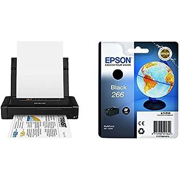 Epson WorkForce WF-100W - Impresora A4 portátil (WiFi y WiFi Direct, USB