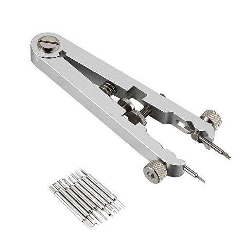MAyouth Uhrenarmband Entfernen Werkzeug, ersetzen Uhrenarmband-Frühlings-Stab-Standard-Zangen-Remover-Werkzeug-Pinzette Kit Entfernen