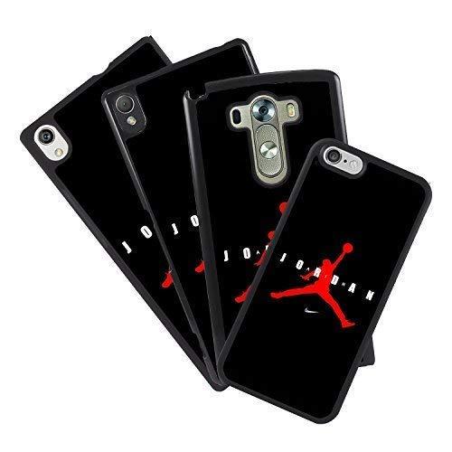 mrmovil Hülle Tasche Alle die Handy Design Eigenen Air Jordan Logo Rot Marke Sport NBA Basketball - Huawei P10 Lite