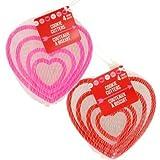 Linda - Formine per biscotti a forma di cuore, idea regalo per San Valentino