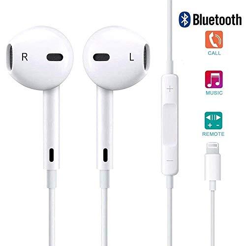 Auricolari in Ear, Auricolari con Microfono, Isolamento del Rumore, Alta Definizione Compatible avec iPhone 7 / 7Plus / 8 / 8Plus / X 10 / iPhone XS Max/XS/XR (1 Pack)