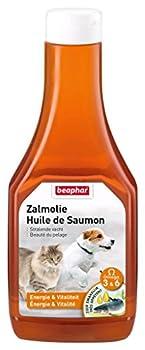 Beaphar - Huile de saumon, complément alimentaire - chien et chat - 425 ml