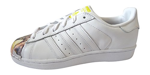 ADIDAS Superstar Pharrell Damen Herren Sneaker S83363 weiß-Supershell People S83363