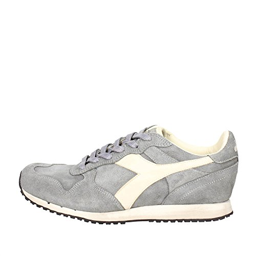 Sneaker Diadora Diadora Heritage Zapatos Hombres Sneakers Trident S SW Storm Gray Gris Vintage