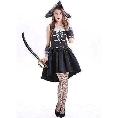 Halloween Männer Und Frauen Piraten Kostüm Cos Rolle Spielen-Eyed Dragon Anzug Auf Die Bühne Kleidung, Weiblichen Piraten, - Zombie Piraten Kostüm Weiblich