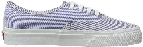Vans U Authentic, Baskets mode mixte adulte Bleu (Multi Stripes)