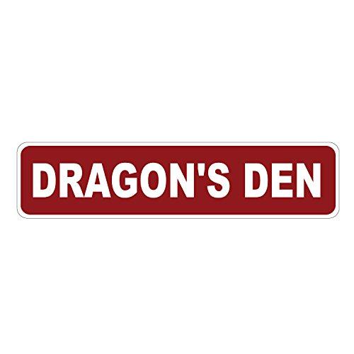 Dark Spark Decals Dragon's Den Pfotenabdruck, Aluminium, 43,2 x 10,2 cm (Decals Dragon)