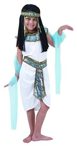 Generique - Ägyptische Königin Kostüm für Mädchen 134/140 (10-12 Jahre)