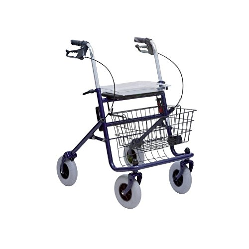 Deambulatore da passeggio a 4 ruote
