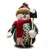 Addobbi Natalizi Decorazioni per la casa Decorazione per Feste Bambole in Piedi Giocattoli in Velluto
