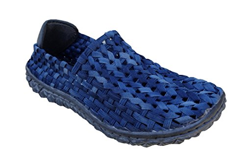 ROCK SPRING FULL BREATH FLAT - DONNA- SOTTOPIEDE IN MEMORY FOAM - NAVY WASHED 36