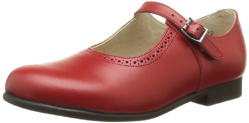 Start Rite - Scarpe elegante Clare, Bambina, Rosso ( Rouge (Red Leather)), 29