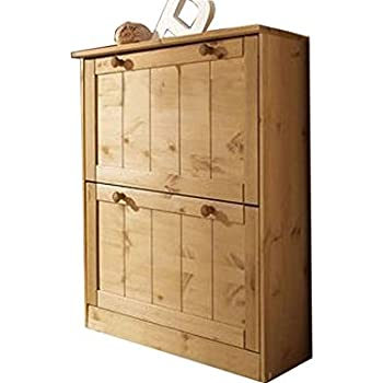 schuhkipper colmar schuhschrank flurschrank dielenschrank mit 2 klappen 1 t r und 1 schublade. Black Bedroom Furniture Sets. Home Design Ideas