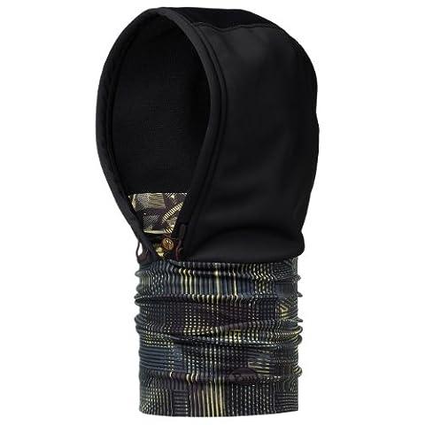 Buff Buff Kapuze Multifunktionstuch Einheitsgröße Weft/Black (Gore Mikrofaser Handschuhe)