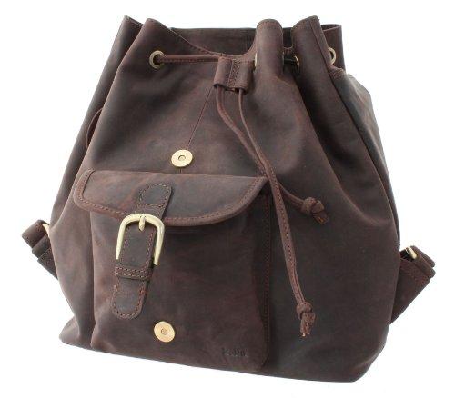 BollaBags  BL98_4, Damen Rucksackhandtasche Braun braun braun