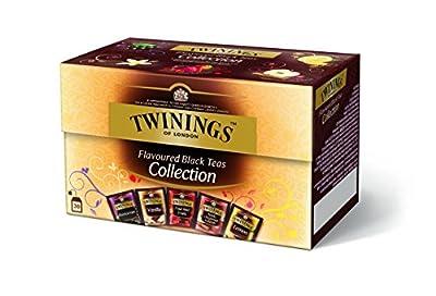 Thé noir aromatisé Collection Twinings 40g (5 variétés x 4 sachets)