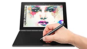"Lenovo Yoga Book tablette tactile hybride 10"" FHD Noir Carbone (Intel Atom, 4 Go de RAM, Disque dur 64 Go, Windows 10 pro)"