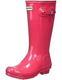 Hunter Girls Gloss Wellington Boots