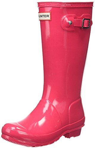 Hunter Girls Gloss Wellington Boots
