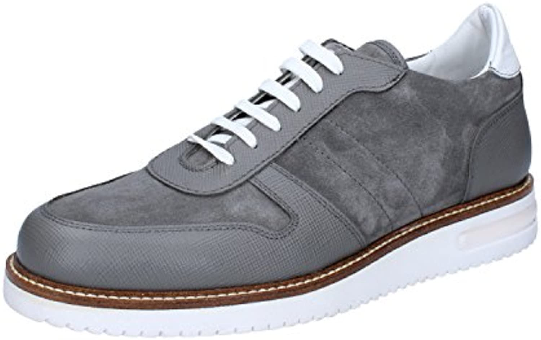 FDF SHOES - Zapatos de cordones para hombre Gris gris