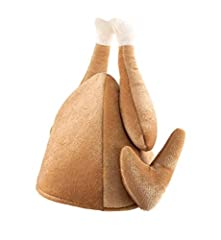Idea Regalo - Cappello Fancy Dress Xmas Turkey