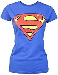 Amazon.es  camiseta superman mujer - Camisetas y tops   Ropa de cine ... 2a88e508c7b91