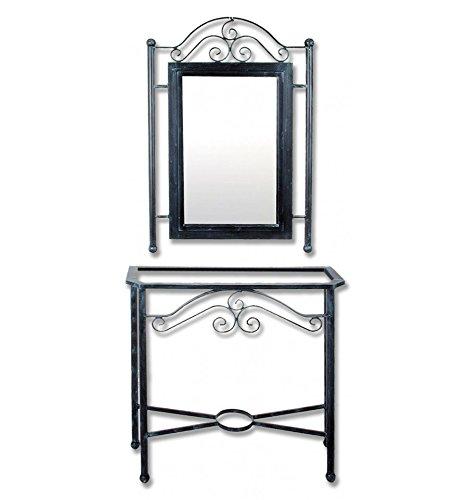 Consola-de-forja-Rus-con-espejo-a-juego-20-Plata-color-con-incremento-de-precio