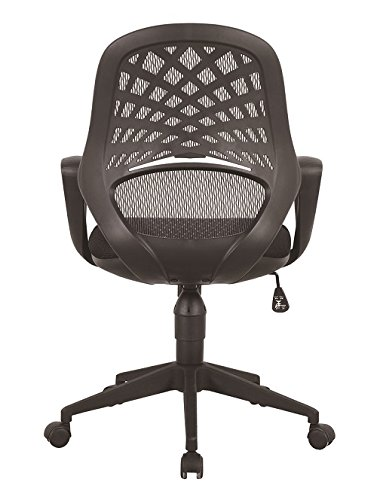 Eliza Tinsley Furniture Lattice Mesh Back Operator Armchair - Black