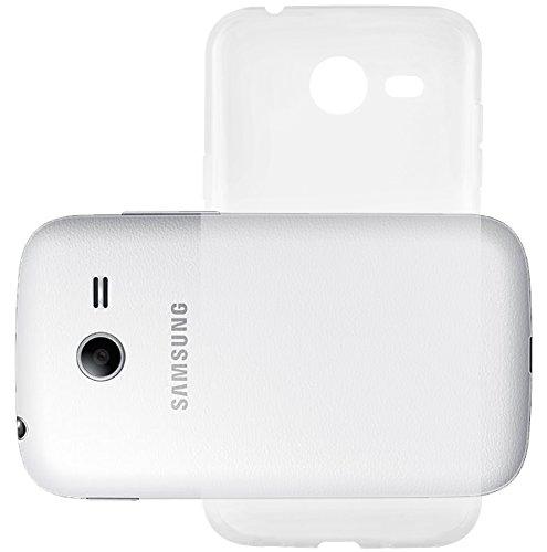 Preisvergleich Produktbild Cadorabo Hülle kompatibel mit Samsung Galaxy Pocket 2 Hülle in VOLL TRANSPARENT Handyhülle aus TPU Silikon im Ultra Slim 'AIR' Silikon Schutzhülle