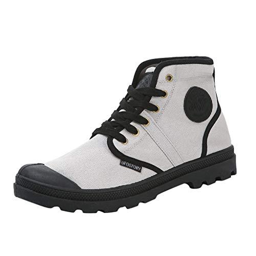FiveFeedback Uomo Scarpe da Corsa Scarpe da Ginnastica Scarpe Comode per Camminare Jogging Sneakers Sneakers Alte Casual da Uomo per Gli Studenti Scarpe da Trekking Classiche Antiscivolo