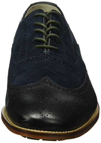 Clarks Penton Limit, Oxfords Homme Bleu (Navy Combi)